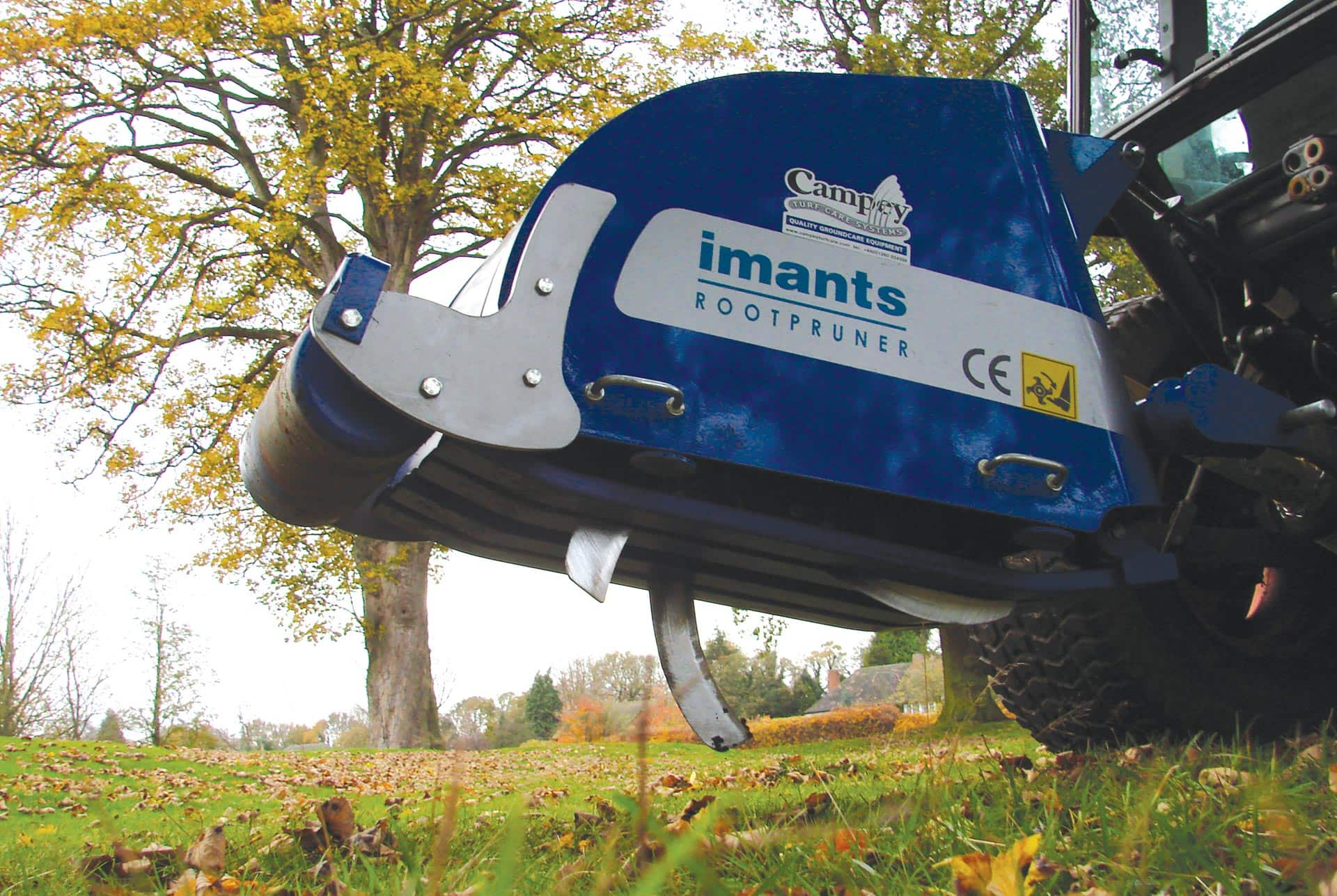 Imants Rootpruner Campey Turf Care Systems