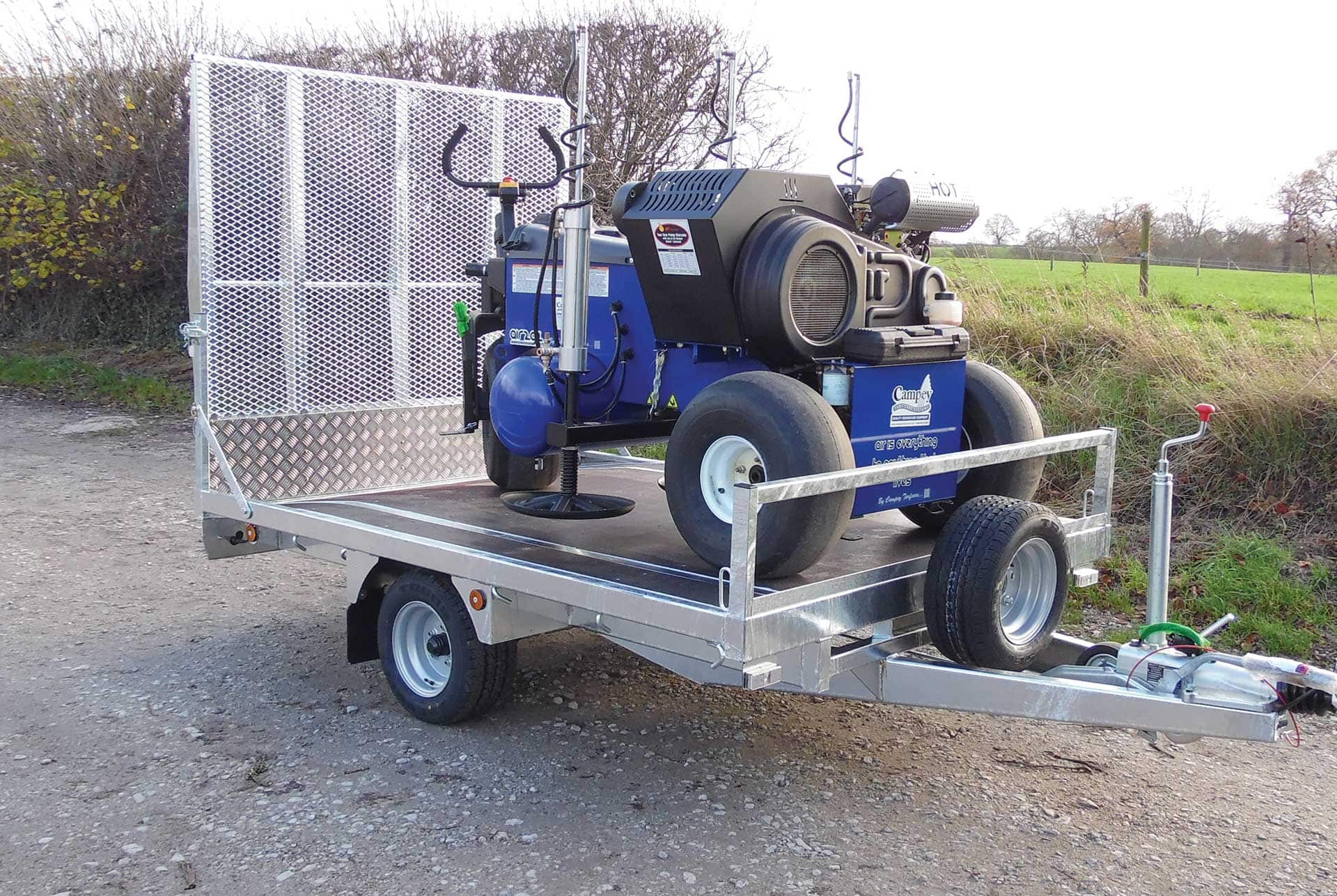 Campey Easy Load Trailer Campey Turf Care Systems