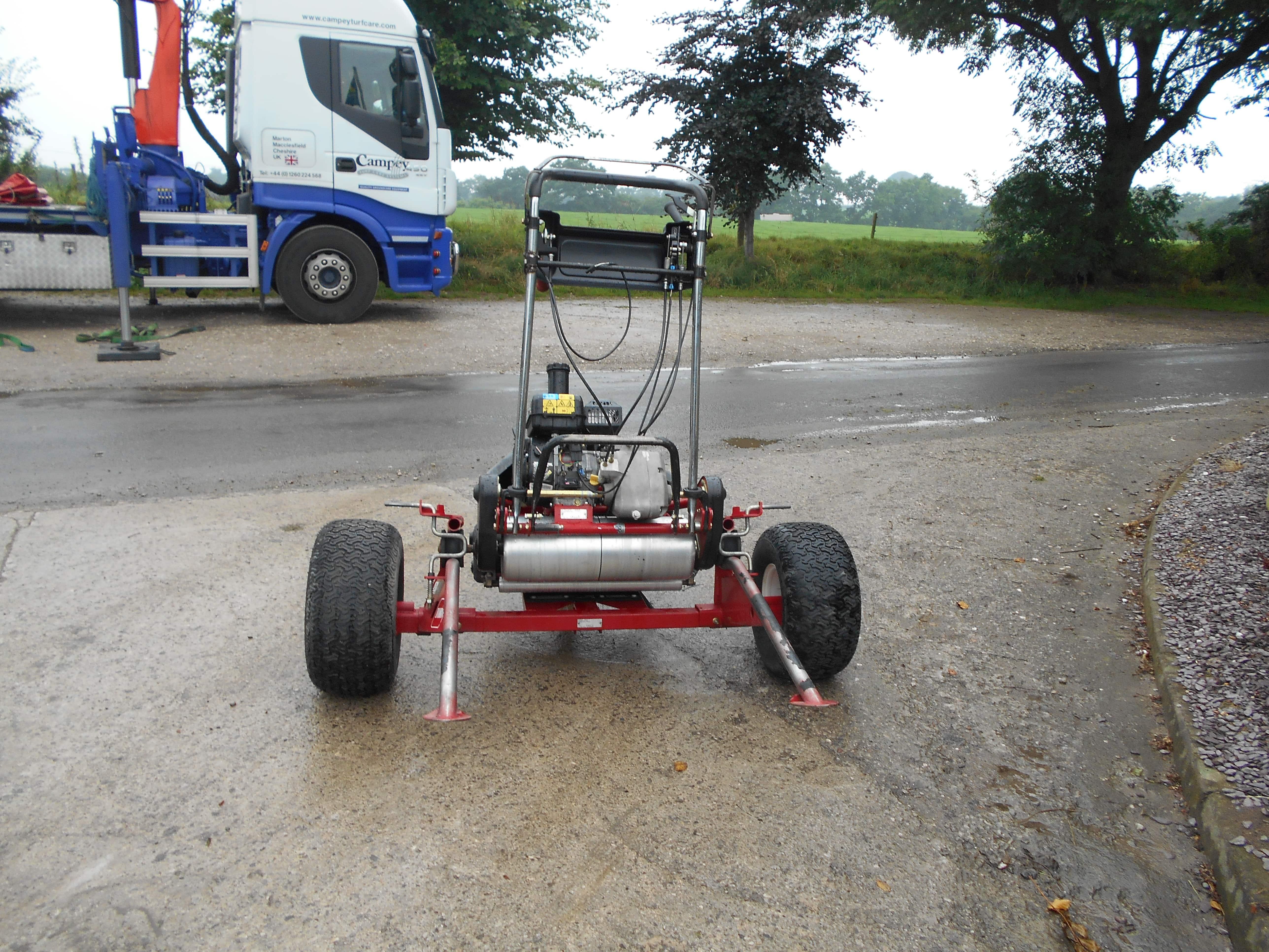 Toro Greenmaster Flex 21 Mower - U3739/U3740
