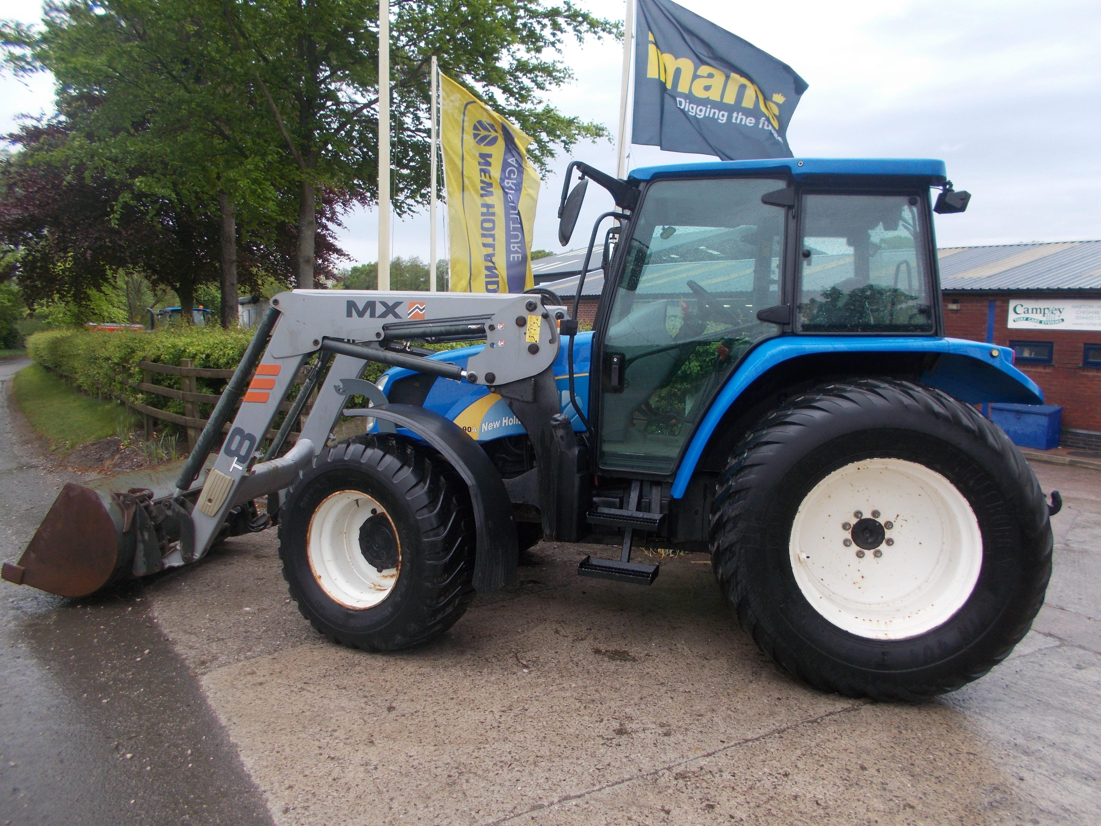 New Holland TL90 Tractor U3920