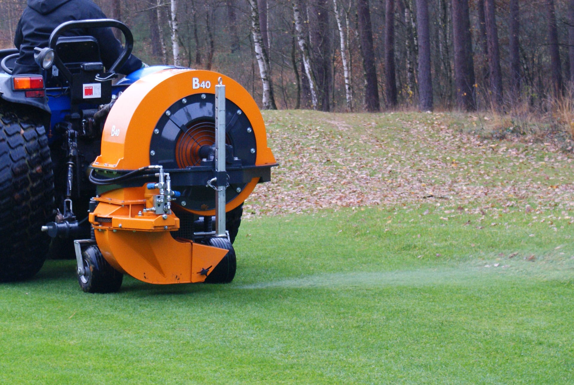Votex B20 B40 B60 Blowers Campey Turf Care Systems