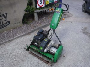 Used Products - Pedestrian Cylinder Mowers - Campey Turf Care Systems