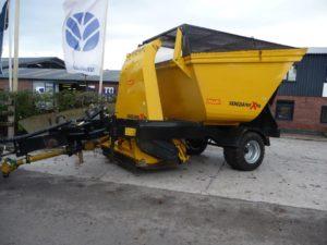Omarv Venezia 190E Flail Mower/Collector - U4558