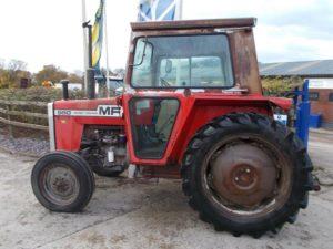 Massey Ferguson 550 Tractor U4574