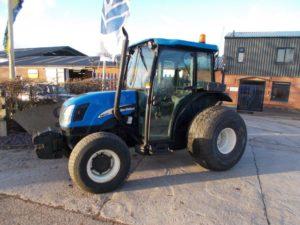 New Holland TN60Da Tractor U4538