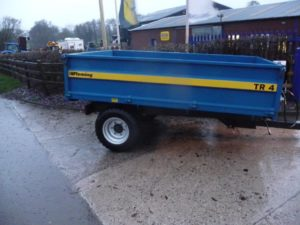 Fleming TR4 Trailer U4606/7