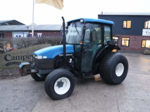 New Holland TN55D Tractor U4349