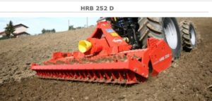Kuhn HRB252D Power Harrow NEW